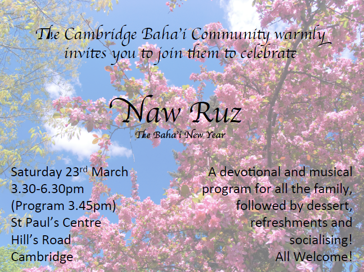 Naw Ruz invite