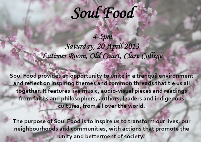 Soul Food Flyer 20apr2013_small